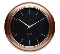 KitchenCraft Copper Effect Clock