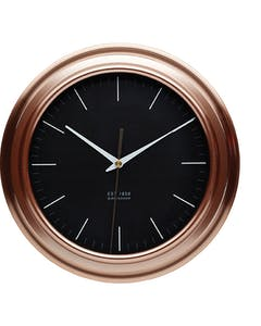 Photo of KitchenCraft Copper Effect Clock