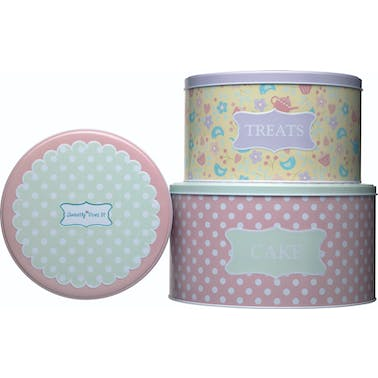 Sweetly Does It Cake Tin Set