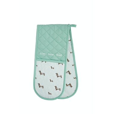 KitchenCraft Dachshund Double Oven Glove