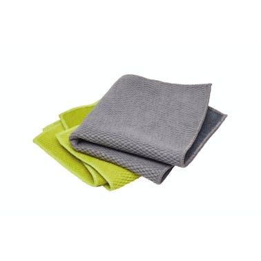 KitchenCraft Pack of 3 Two-in-One Dish Cloths