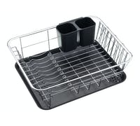 KitchenCraft Chrome Plated Dish Drainer