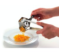 KitchenCraft Stainless Steel Rotary Grater With One Drum