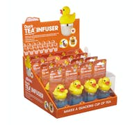 Kitsch'n'Fun Display of 16 Duck Tea Infusers