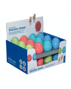 Photo of KitchenCraft Display of 24 Egg Shaped Timers