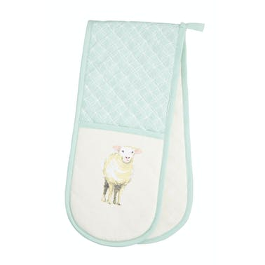 KitchenCraft Farmyard Animals Double Oven Glove