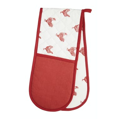 KitchenCraft French Hen Double Oven Glove