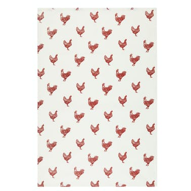 KitchenCraft Set of 2 French Hen Tea Towels