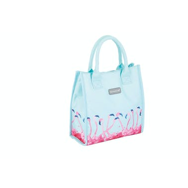 KitchenCraft 4 Litre Flamingo Lunch / Snack Cool Bag