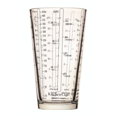 KitchenCraft Glass Measuring Cup