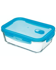 Photo of KitchenCraft Pure Seal Glass Rectangular 1.8 Litres Storage Container