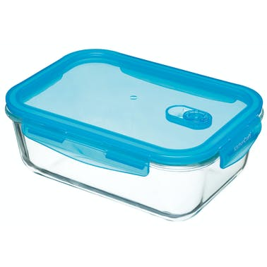 KitchenCraft Pure Seal Glass Rectangular 1.8 Litres Storage Container