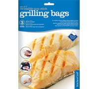 KitchenCraft Set of Three Re-Usable Non-Stick Grill Bags