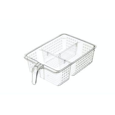 KitchenCraft Large Plastic Fridge / Cupboard Organiser