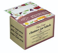 Home Made Pack of 100 Assorted Chutney Jar Labels