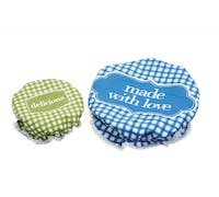 Home Made Set of 2 Fabric Food Covers