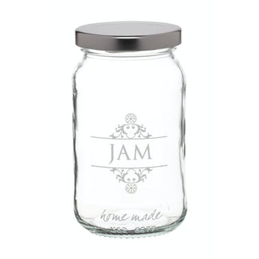 Home Made Traditional Glass 454ml 'Jam' Jar