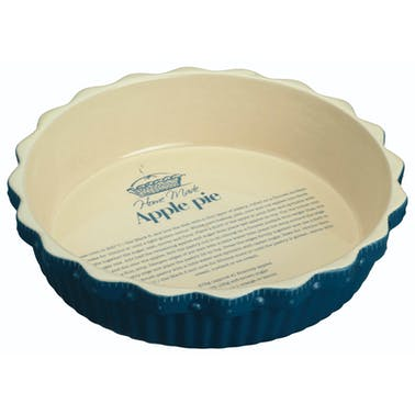Home Made Fluted Round Pie Dish