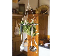 Home Made Hanging Utensil & Herb Drying Rack