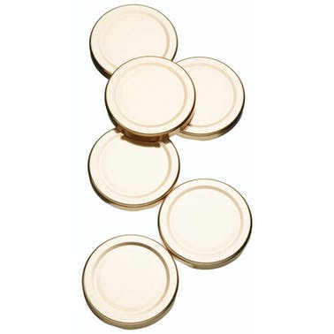 Home Made Pack of 6 Spare Preserve Jar Lids