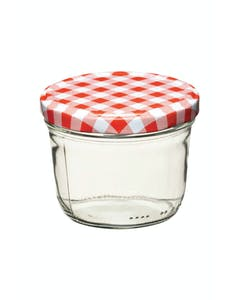 Photo of Home Made 230ml Preserving Jar with Screw Top Lid