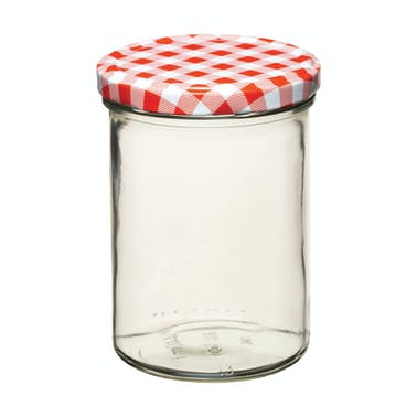 Home Made 440ml Preserving Jar with Screw Top Lid