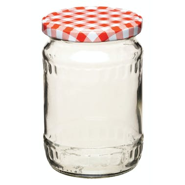 Home Made 580ml Preserving Jar with Screw Top Lid