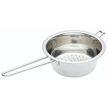 KitchenCraft Stainless Steel 16cm Long Handled Colander
