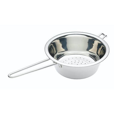 KitchenCraft Stainless Steel 20cm Long Handled Colander