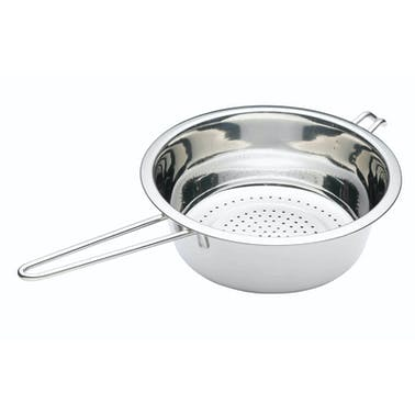KitchenCraft Stainless Steel 22cm Long Handled Colander