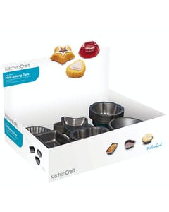Photo of KitchenCraft Counter Top Display of 72 Mini Cake Pans