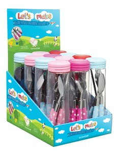 Photo of Let's Make Display of 12 Childrens Cutlery Sets
