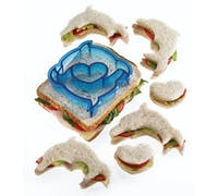 Let's Make Dolphin / Heart Shaped Sandwich Cutter