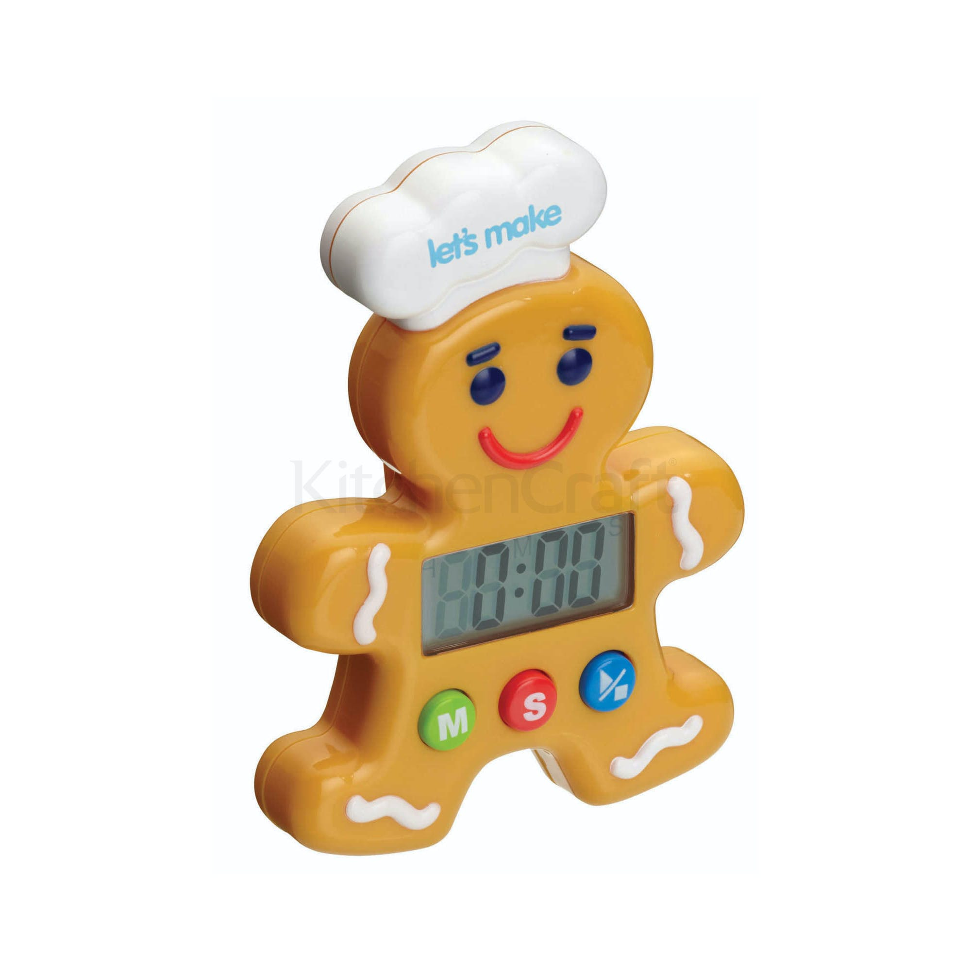 Let S Make Gingerbread Man Digital Timer Thermometers Timers