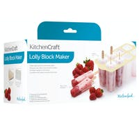 KitchenCraft Set of 8 Deluxe Lolly Makers