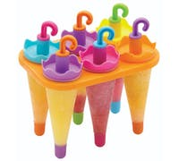 KitchenCraft Set of 6 Umbrella Lolly Makers With Stand