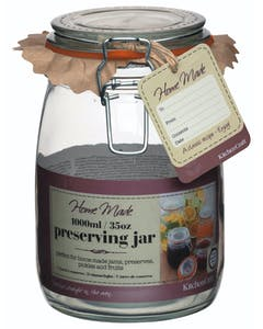 Photo of Home Made Glass 1 Litre Preserving Jar