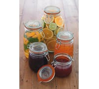 Home Made Glass 1 Litre Preserving Jar