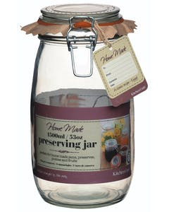 Photo of Home Made Glass 1.5 Litre Preserving Jar