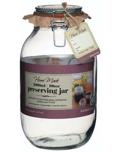 Photo of Home Made Glass 3 Litre Preserving Jar