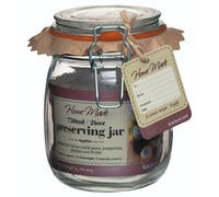 Home Made Glass 750ml Preserving Jar