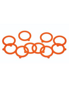 Photo of Home Made Pack of 10 Spare Silicone Sealing Rings for Preserving Jars
