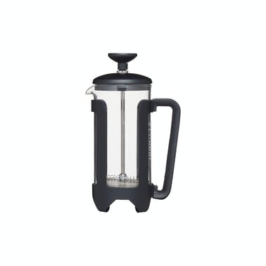 Le'Xpress Matt Black Stainless Steel 3 Cup French Press Cafetiere