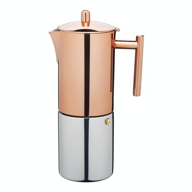 Le'Xpress Stainless Steel Copper Effect 600ml Espresso Coffee Maker