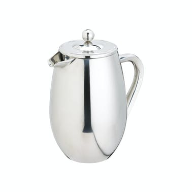 Le'Xpress 3 Cup Double Walled Stainless Steel Cafetiere