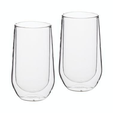 Le'Xpress Double Walled Highball Glasses