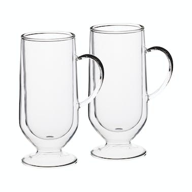 Le'Xpress Double Walled Irish Coffee Glasses