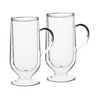 Le'Xpress Double Walled Latte Glasses