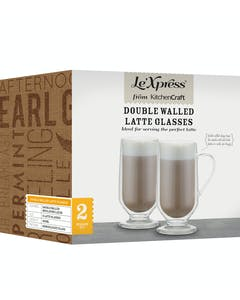 Photo of Le'Xpress Double Walled Latte Glasses