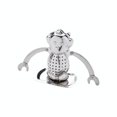 Le'Xpress Stainless Steel Novelty Monkey Tea Infuser